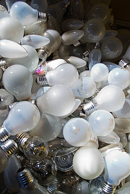 Light bulb recycling - p1418m1572049 by Jan Håkan Dahlström