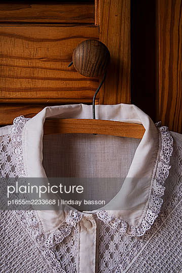 White Button Up Shirt - p1655m2233668 by lindsay basson