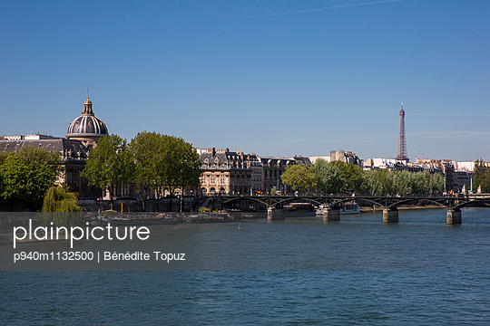 View of the Seine - p940m1132500 by Bénédite Topuz