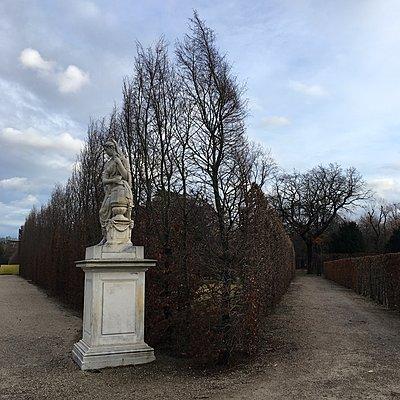 Österreich, Wien, Schlosspark Schönbrunn, Statue - p1401m2237552 von Jens Goldbeck