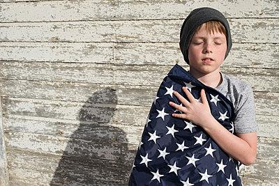 Little patriot - p1262m1215964 by Maryanne Gobble