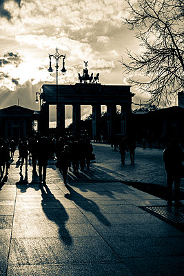 Brandenburg Gate - p975m1129002 by Hayden Verry