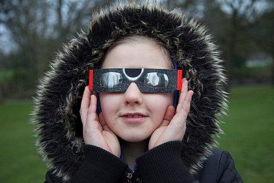 Solar eclipse - p522m1031075 by Pauline Ruhl Saur