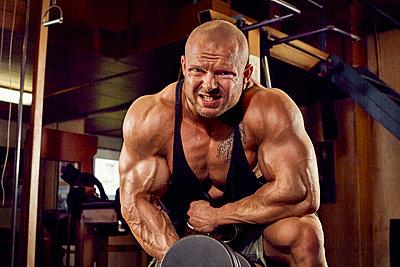 Bodybuilding - p1200m1159353 von Carsten Görling