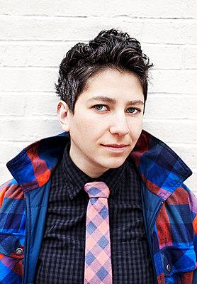 Portrait of a lesbian woman - p429m801592 by Patryce Bak