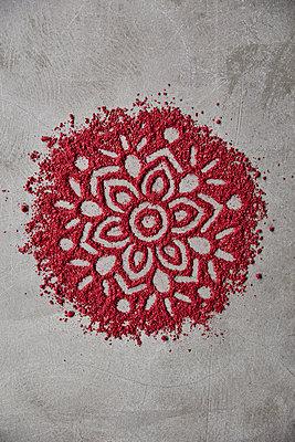 Mandala pattern - p312m2120130 by Johner