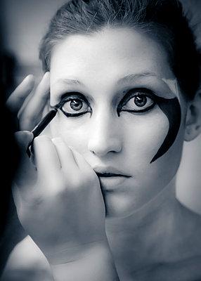 Portrait at theatre - p1062m1172180 by Viviana Falcomer