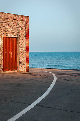 The front door - p1245m1148701 by Catherine Minala