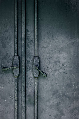 Industrial doors - p1228m2037260 by Benjamin Harte