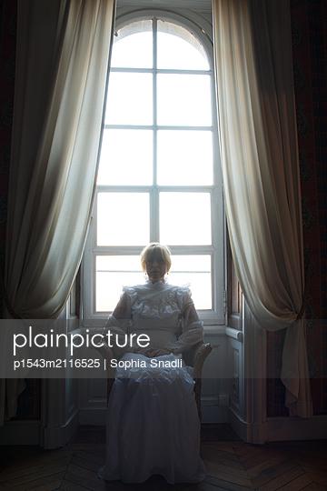 Waiting - p1543m2116525 by Sophia Snadli