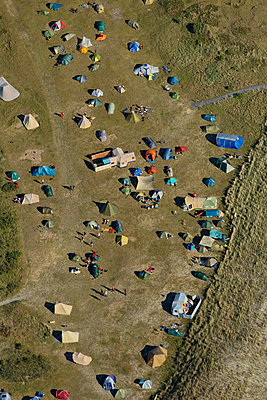 Camp site on Spiekeroog  - p1016m1137535 by Jochen Knobloch
