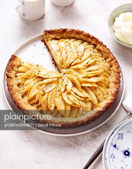 Pear fancy cake - p1397m2054671 by David Prince