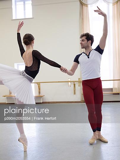 Ballett Training - p390m2053554 by Frank Herfort