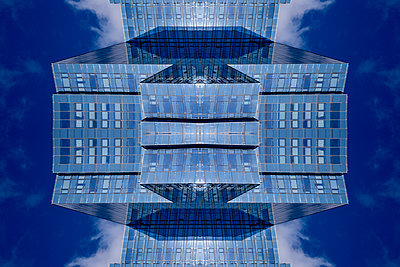 Abstract Architecture Kaleidoscope Boston - p401m2219836 by Frank Baquet