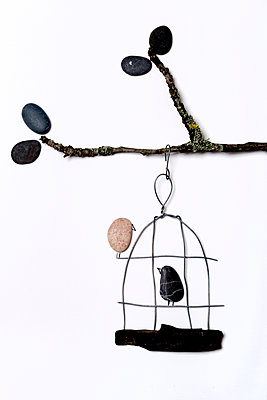 Birdcage - p451m1128949 by Anja Weber-Decker