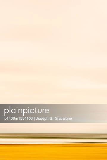 Coastal scenery with motion blur effect - p1436m1584108 by Joseph S. Giacalone