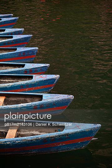 Wooden boats - p817m2143106 by Daniel K Schweitzer