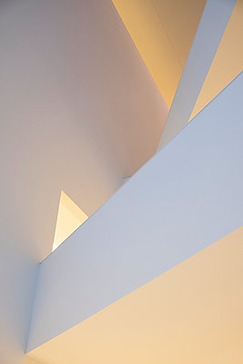 Various angles in staircase - p335m1152296 by Andreas Körner
