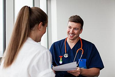 Doctors in hospital - p312m2174359 by Scandinav
