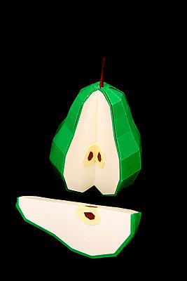 Paper pear - p451m2263532 by Anja Weber-Decker