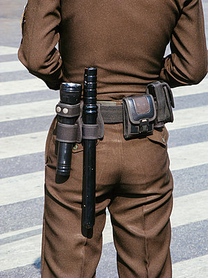 Policeman - p728m1026522 by Peter Nitsch