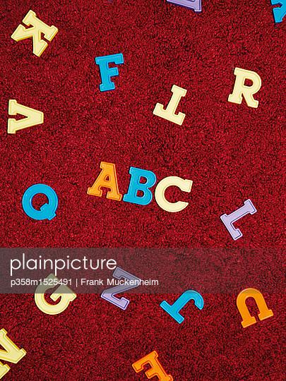 Das ABC - p358m1525491 von Frank Muckenheim