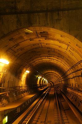 Subway tunnel - p470m934117 by Ingrid Michel