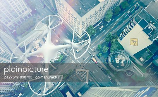 Drohne - p1275m1090733 von cgimanufaktur