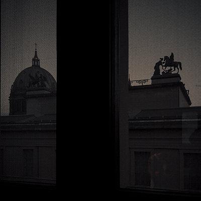 Landscape through a window - p1062m1172157 by Viviana Falcomer