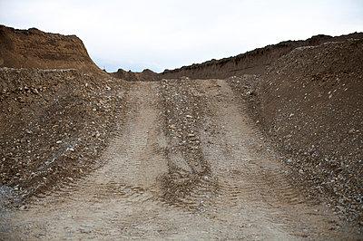 Gravel pile - p1980131 by David Breun