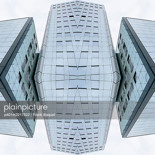 Abstract Architecture Kaleidoscope Cologne - p401m2217522 by Frank Baquet