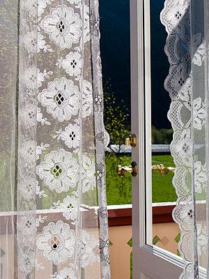 Open terrace door of a hotel - p4902792 by Jan Mammey