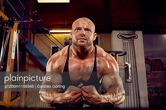 Bodybuilding - p1200m1159345 von Carsten Goerling