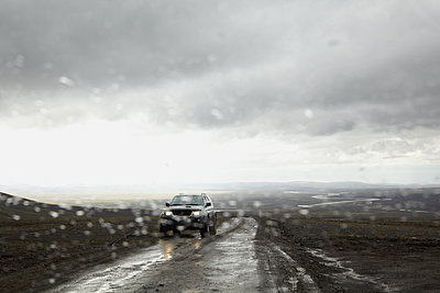Hochlandpiste, Island, Kjalvegur - p1294m1201559 von Sabine Bungert