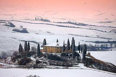 Orcia valley in winter - p4298131 by Fabio Muzzi