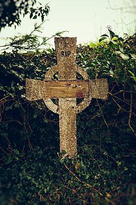 Celtic cross - p470m1190625 by Ingrid Michel