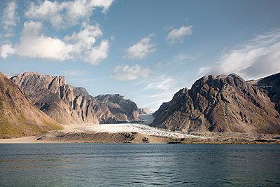Fjord in Grönland, Søndre Strømfjord - p1486m1589835 von LUXart