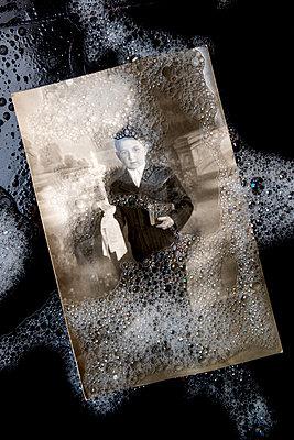 Washing memories away - p451m2286164 by Anja Weber-Decker