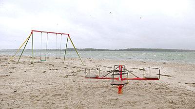 Strandszenen bei Kiel - p3570024 von Raupach