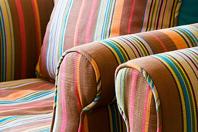 Colorful Striped Armchairs - p5550526f by LOOK Photography