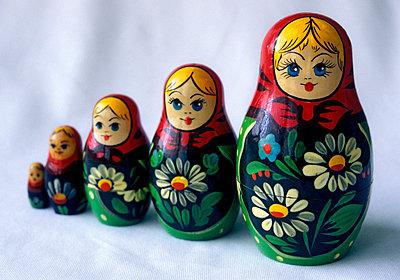 Babuschka Puppen - p7260005 von Katarzyna Zommer