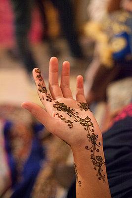 Henna-Tattoo - p775m900865 von angela pfeiffer