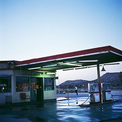 Petrol station - p8560031 by Pierre Baelen