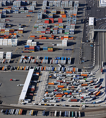 Container port - p1048m1069324 by Mark Wagner