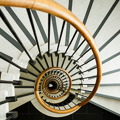 Stairwell - p417m1074230 by Pat Meise