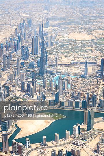 Dubai Burj Khalifa - p1275m2034196 von cgimanufaktur