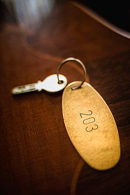 Zimmerschlüssel in einem Hotel - p1418m1572189 von Jan Håkan Dahlström