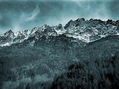 Bergzinnen Schweiz - p1282m1105090 von Stefano Boragno