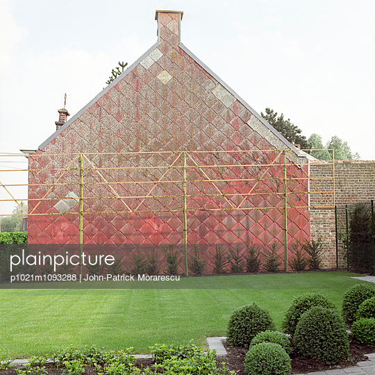 Box hedge - p1021m1093288 by John-Patrick Morarescu