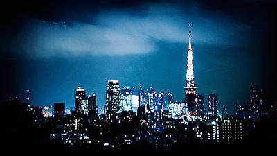 Tokyo at night - p1093m904084 by Sven Hagolani